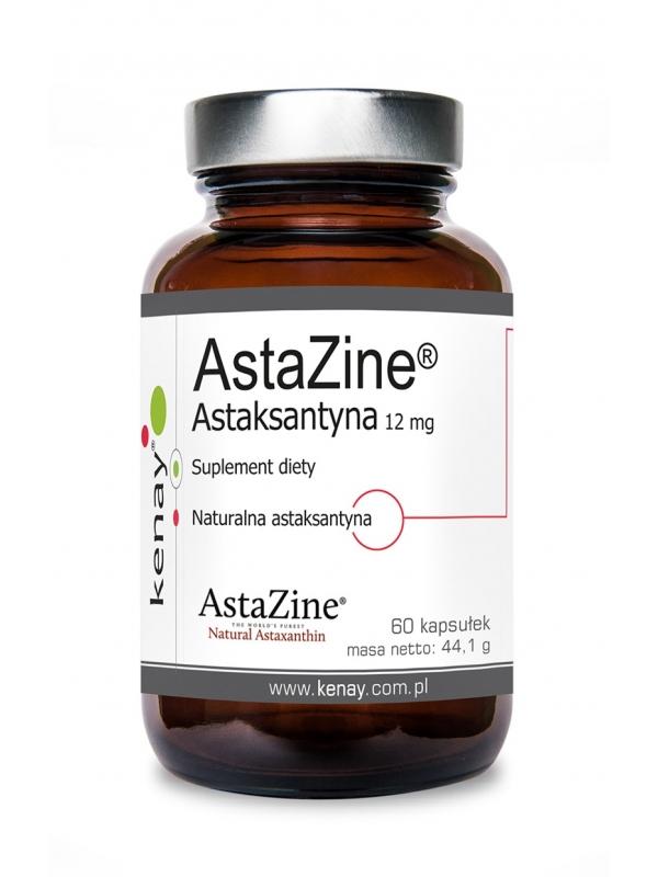 AstaZine® Astaksantyna 12 mg (60 kapsułek) - suplement diety