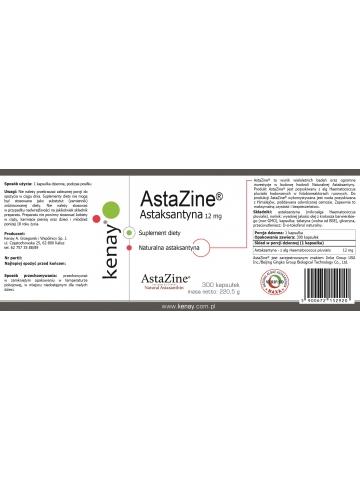 AstaZine™  Astaksantyna 12 mg (300 kapsułek) - suplement diety
