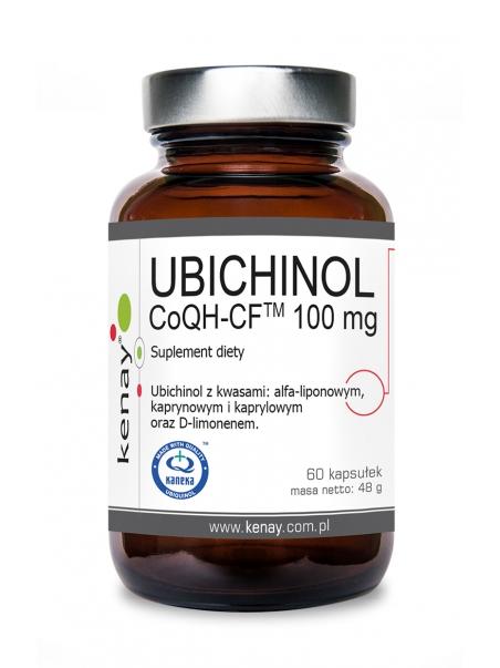 UBICHINOL CoQH-CF 100 mg (60 kapsułek) - suplement diety