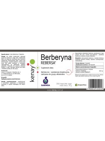 Berberyna REBERSA® (300 kapsułek) - suplement diety