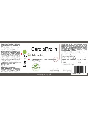 CardioProlin (proszek 140 g) - suplement diety