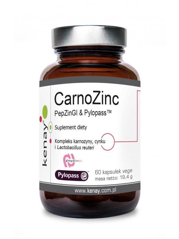 CarnoZinc PepZinGI & Pylopass™ (60 kapsułek) - suplement diety