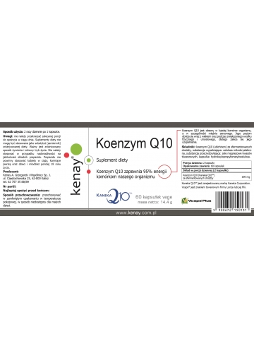 Koenzym Q10 (60 kapsułek) - suplement diety