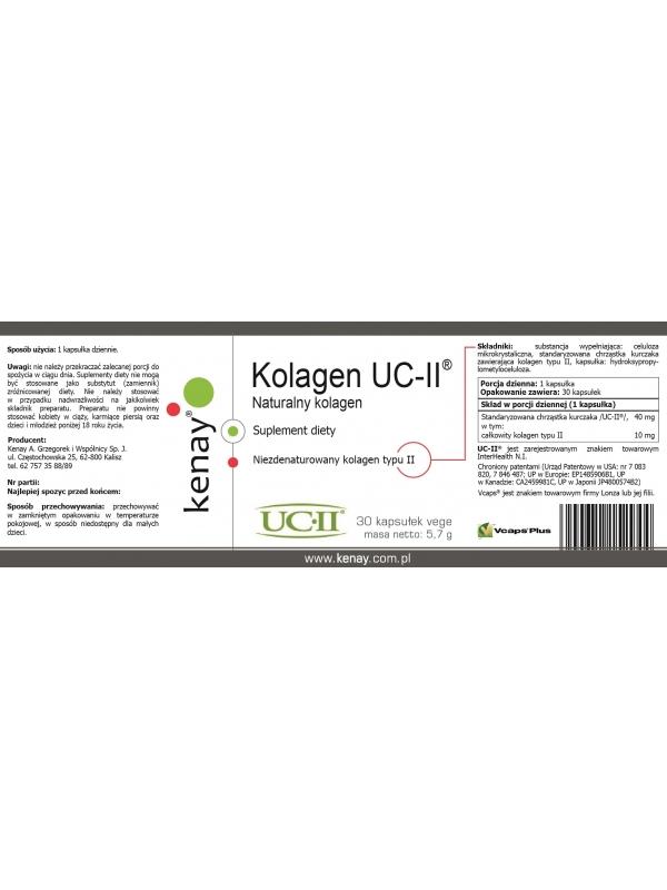 Kolagen UC-II® (30 kapsułek) - suplement diety