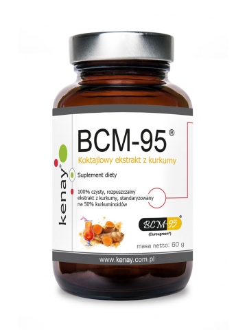 Kurkuma - rozpuszczalny ekstrakt BCM-95®  (Biocurcumin®)  (60 g) - suplement diety