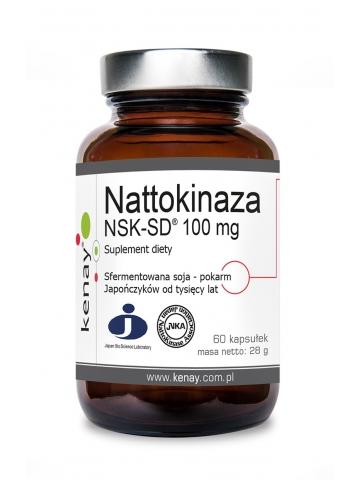 Nattokinaza 100 mg  NSK-SD®  (60 kapsułek) - suplement diety