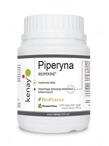 Piperyna (BIOPERINE®) (300 kapsułek) - suplement diety