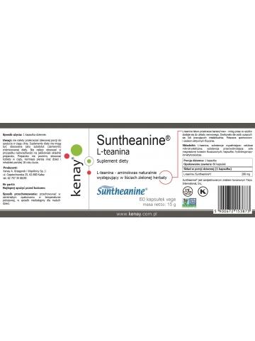 L-teanina Suntheanine® (60 kapsułek) - suplement diety