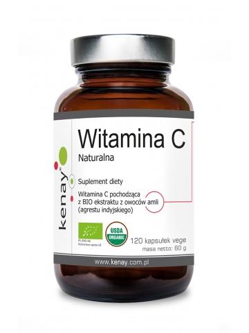 Witamina C naturalna BIO (120 kapsułek) - suplement diety