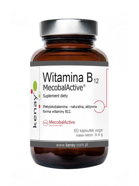 Witamina B12 (metylokobalamina) MecobalActive® (60 kapsułek) - suplement diety