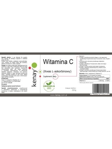 Witamina C Kwas L-askorbinowy (proszek 200 g) - suplement diety