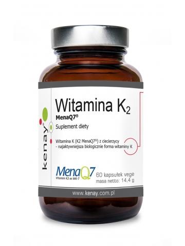 WITAMINA K2 Mena Q7 z ciecierzycy (60 kapsułek) - suplement diety
