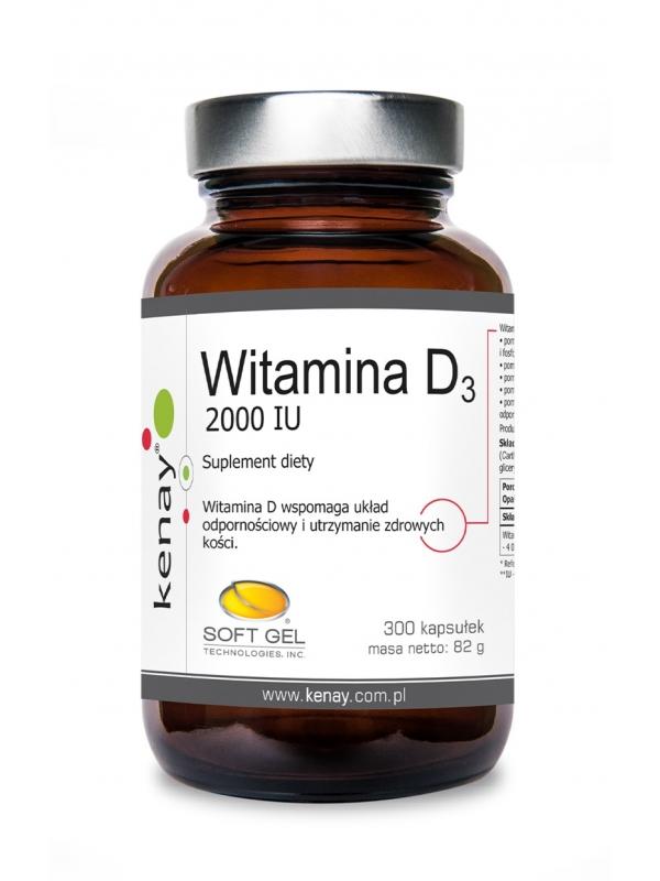 WITAMINA D3 2000 IU