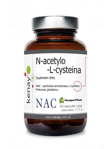 NAC  N-acetylo-L-cysteina 150 mg (60 kapsułek) - suplement diety