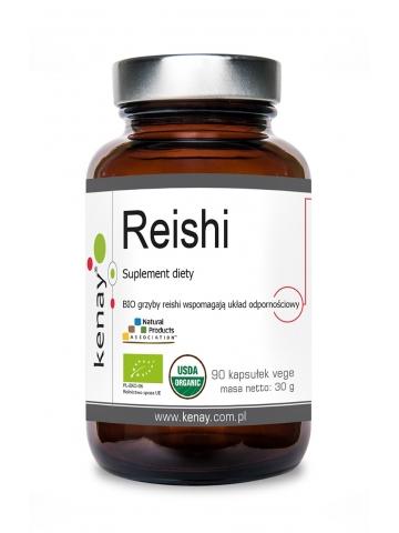 Reishi BIO (90 kapsułek)  – suplement diety