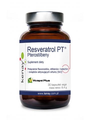 PTEROSTILBENY - Resveratrol PT® (30 kapsułek) - suplement diety
