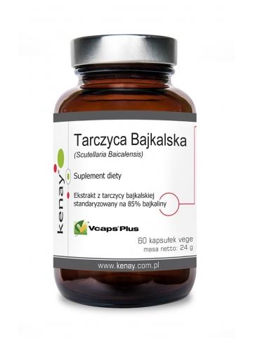 Tarczyca Bajkalska (Scutellaria Baicalensis)  (60 kapsułek) - suplement diety