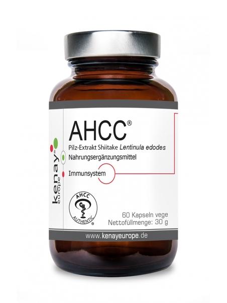 AHCC® Grzyb shitake Lentinula edodes (60 kapsułek) - suplement diety