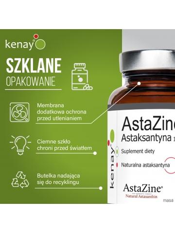 AstaZine®  Astaksantyna 12 mg (30 kapsułek) - suplement diety