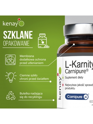 L-Karnityna  Carnipure® (60 kapsułek) - suplement diety