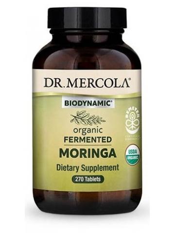 MORINGA - Biodynamic® organiczne fermentowane liście drzewa chrzanowego (DR. MERCOLA®) (270 tabletek) – suplement diety