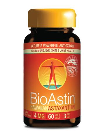 BioAstin® Astaksantyna 4 mg (60 kapsułek) - suplement diety