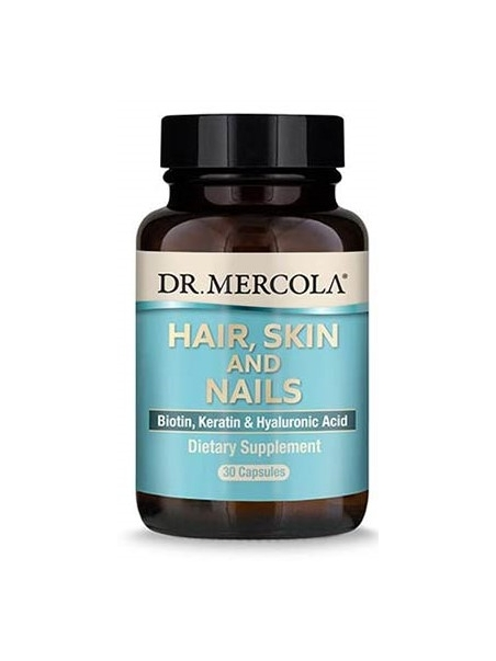 HAIR, SKIN AND NAILS (włosy, skóra, paznokcie) (dr Mercola) (30 kapsułek) - suplement diety