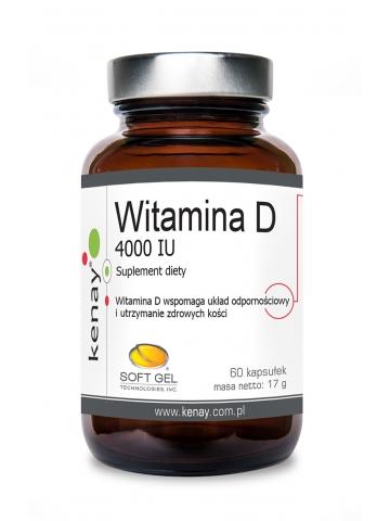 WITAMINA D3 4000 IU (60 kapsułek) - suplement diety