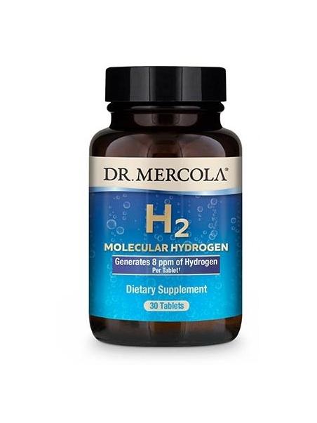 H2 Molecular hydrogen (DR. MERCOLA®) (30 tabletek) – suplement diety