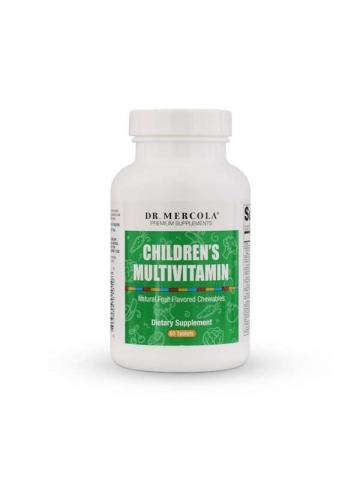 Multiwitaminy dla dzieci CHILDREN'S MULTIVITAMIN  Dr. Mercola (60 tabl.) - suplement diety
