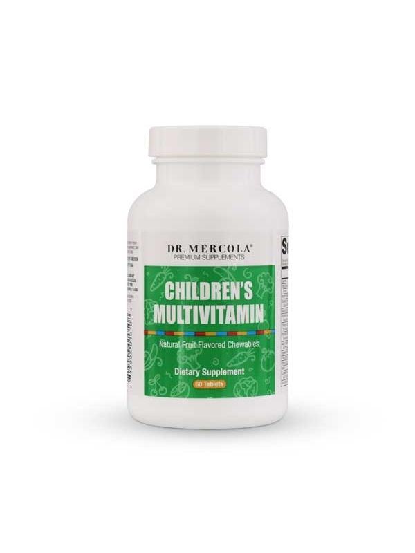 Multiwitaminy dla dzieci CHILDREN`S MULTIVITAMIN  Dr. Mercola (60 tabl.) - suplement diety