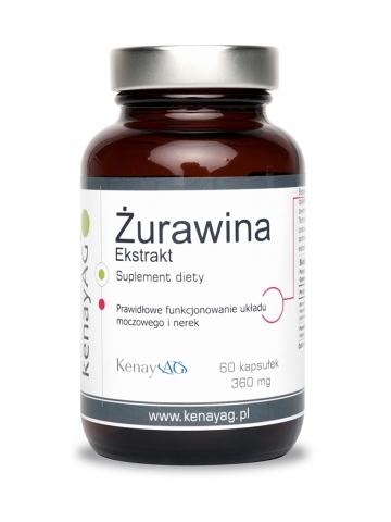 Żurawina ekstrakt (60 kaps.) - suplement diety