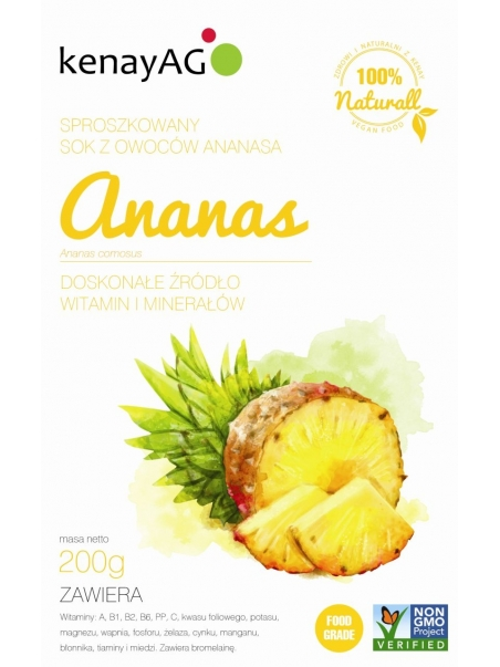 Ananas - sproszkowany sok - 200 g