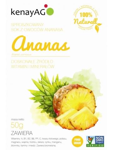 Ananas - sproszkowany sok - 100 g