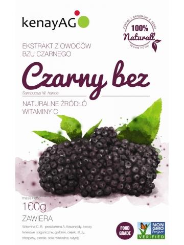 Czarny bez ( (Sambucus W. hance) - sproszkowany ekstrakt - 100 g