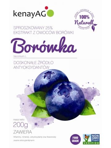 Borówka – ekstrakt z owoców 25% - 200 g