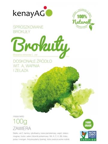 BROKUŁY - sproszkowane brokuły - 100 g