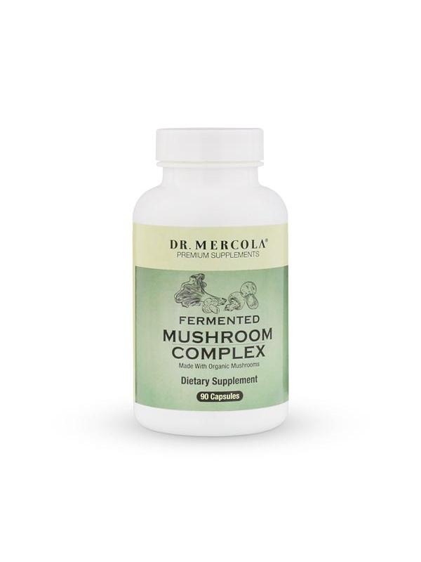 Sfermentowane grzyby - Fermented Mushroom Complex  (dr Mercola) (90 kapsułek) - suplementy diety