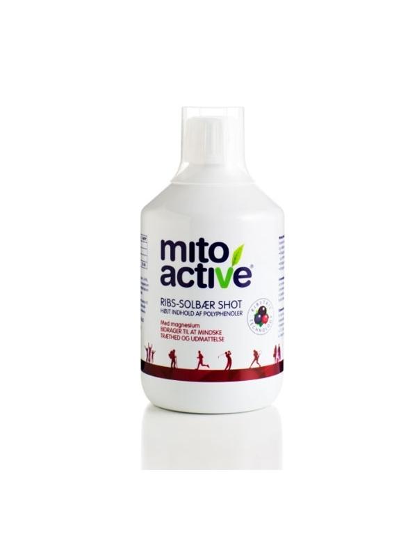 Koncentrat z czarnych i czerwonych porzeczek MitoActive™ (500 ml) – Energia i odmłodzenie skóry