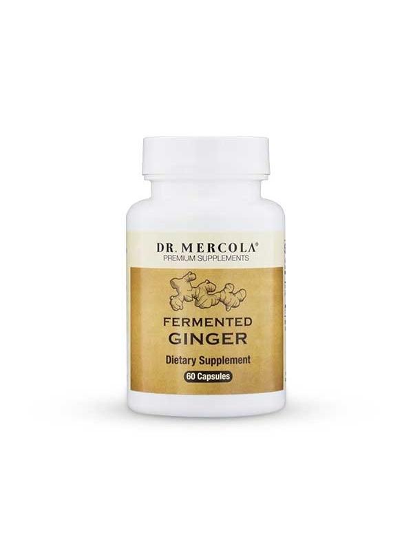 Sfermentowany Imbir - Fermented Ginger (dr Mercola) (60 kapsułek) - suplementy diety
