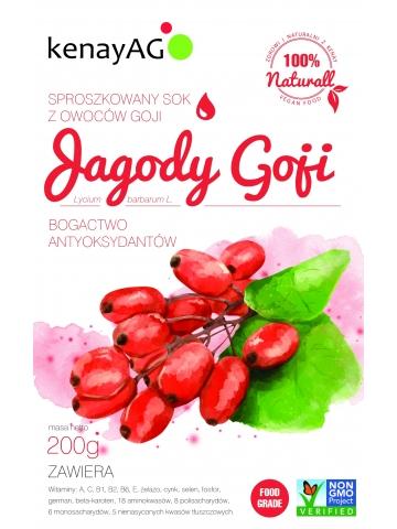 Goji - sproszkowany sok z owoców goji (100g)