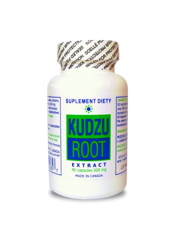 Kudzu Root ekstrakt (90 kapsułek) - suplement diety