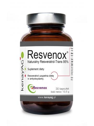 RESVENOX - resweratrol trans 450 mg (30 kapsułek) - suplement diety