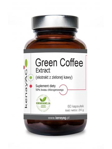 Zielona kawa (ekstrakt) Green Coffee Extract (60 kapsułek) - suplement diety