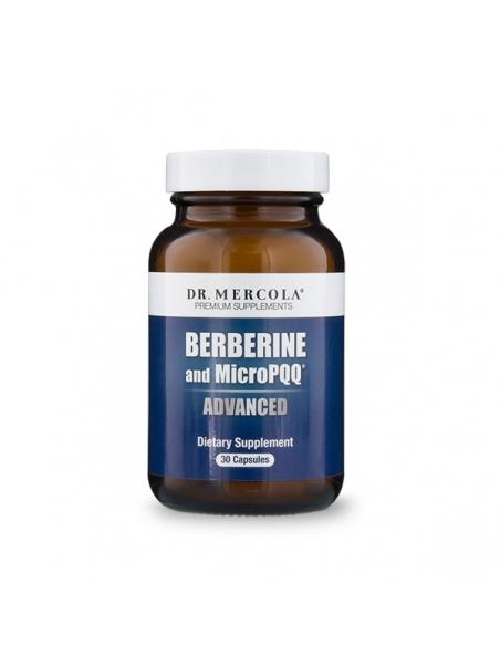 Berberyna z MicroPQQ  (dr Mercola) (30 kapsułek) - suplement diety